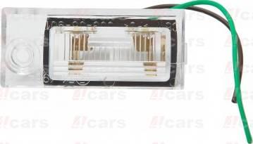 4Cars 12150002201 - Фонарь освещения номерного знака mavto.com.ua