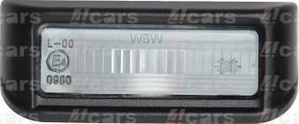 4Cars 24400002204 - Фонарь освещения номерного знака mavto.com.ua
