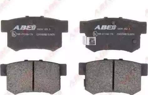 ABE C24005ABE - Тормозные колодки, дисковые mavto.com.ua