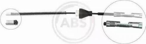 A.B.S. K13436 - Трос, стояночная тормозная система mavto.com.ua