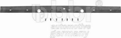 BBR Automotive 001-80-14019 - Накладка порога mavto.com.ua