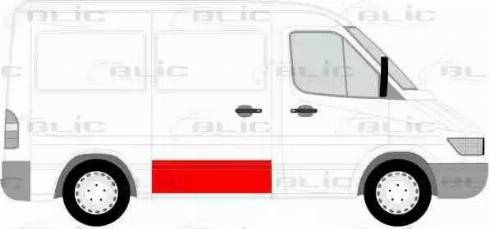 BLIC 6508-01-3546150P - Обшивка двери mavto.com.ua