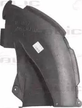 BLIC 6601-02-5541885P - Защита двигателя / поддона двигателя mavto.com.ua