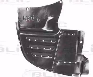 BLIC 6601-02-6037886P - Защита двигателя / поддона двигателя mavto.com.ua