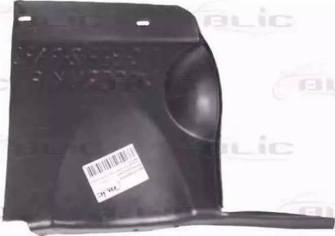 BLIC 6601-02-0551872P - Кожух двигателя mavto.com.ua
