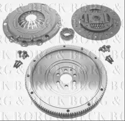 Borg & Beck HKF1014 - Комплект для переоборудования, сцепление mavto.com.ua