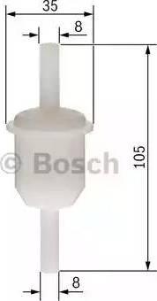 BOSCH 0450904058 - Топливный фильтр mavto.com.ua