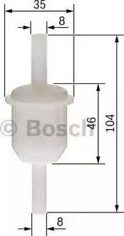 BOSCH 0 450 904 060 - Топливный фильтр mavto.com.ua