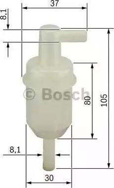 BOSCH 0450904077 - Топливный фильтр mavto.com.ua