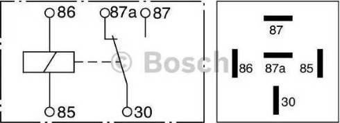 BOSCH 0 332 209 150 - Многофункциональное реле mavto.com.ua