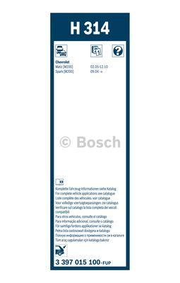 BOSCH 3397015100 - Щетка стеклоочистителя mavto.com.ua