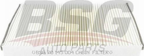 BSG BSG 70-145-004 - Фильтр воздуха в салоне mavto.com.ua
