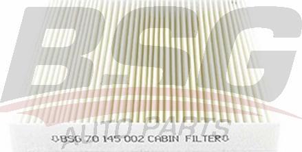BSG BSG 70-145-002 - Фильтр воздуха в салоне mavto.com.ua