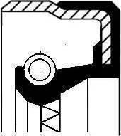 Corteco 01016962B - Уплотняющее кольцо, вспомогательный привод mavto.com.ua