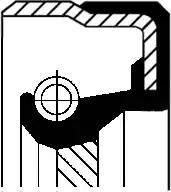 Corteco 01027959B - Уплотняющее кольцо, раздаточная коробка mavto.com.ua