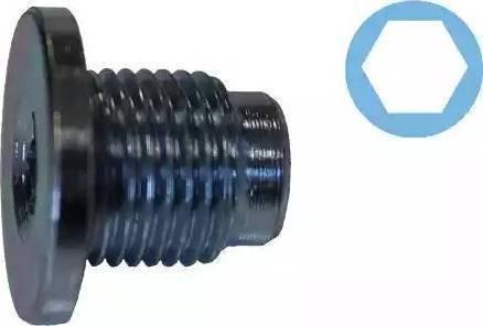 Corteco 407711H - Уплотнительное кольцо, резьбовая пробка маслосливного отверстия mavto.com.ua