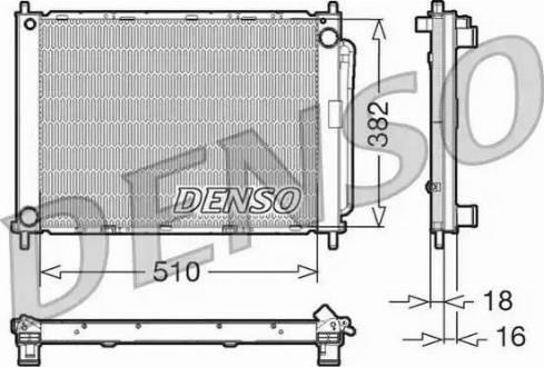 Denso DRM23100 - Модуль охлаждения mavto.com.ua