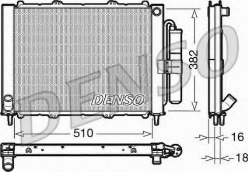 Denso DRM23103 - Модуль охлаждения mavto.com.ua