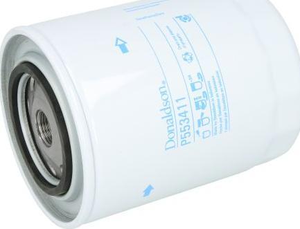 Donaldson P553411 - Фильтр, Гидравлическая система привода рабочего оборудования mavto.com.ua