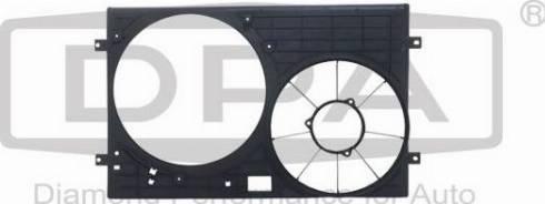DPA 81210127102 - Вентилятор, охлаждение двигателя mavto.com.ua