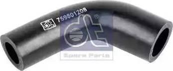DT Spare Parts 1.19180 - Гидравлический шланг, рулевое управление mavto.com.ua