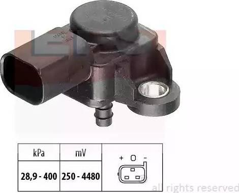 EPS 1.993.175 - Датчик, давление выхлопных газов mavto.com.ua