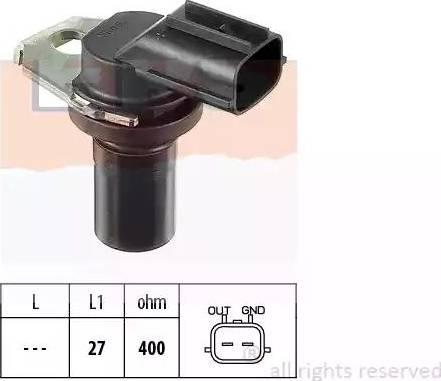 EPS 1.953.308 - Датчик частоты вращения, автоматическая коробка передач mavto.com.ua