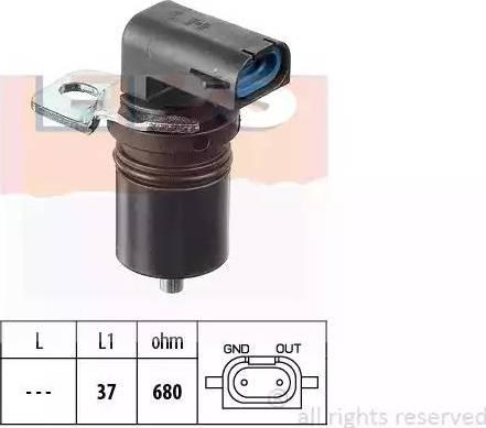 EPS 1.953.321 - Датчик частоты вращения, автоматическая коробка передач mavto.com.ua
