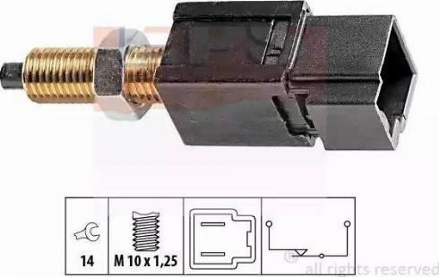 EPS 1.810.052 - Выключатель, привод сцепления (Tempomat) mavto.com.ua