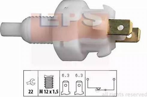 EPS 1.810.004 - Выключатель фонаря сигнала торможения mavto.com.ua
