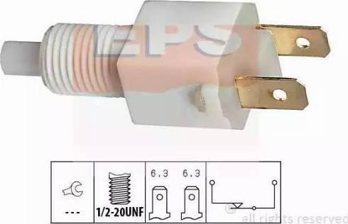 EPS 1.810.034 - Выключатель фонаря сигнала торможения mavto.com.ua