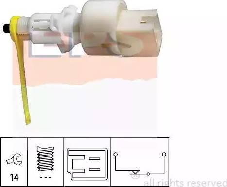EPS 1.810.153 - Выключатель, привод сцепления (Tempomat) mavto.com.ua