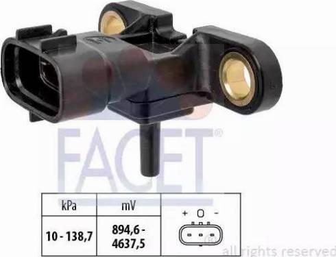 FACET 10.3213 - Датчик давления, усилитель тормозной системы mavto.com.ua