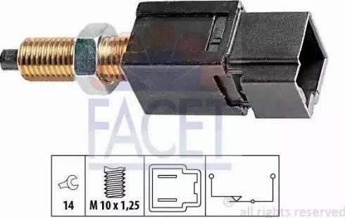 FACET 7.1052 - Выключатель, привод сцепления (Tempomat) mavto.com.ua