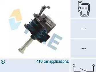 FAE 24854 - Выключатель, привод сцепления (Tempomat) mavto.com.ua