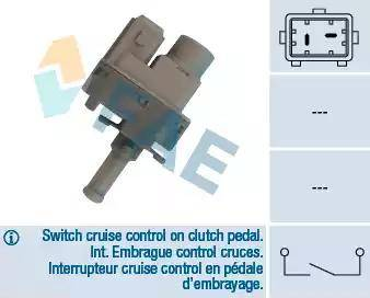 FAE 24830 - Выключатель, привод сцепления (Tempomat) mavto.com.ua