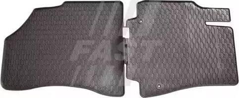 Fast FT96109 - Резиновый коврик с защитными бортами mavto.com.ua