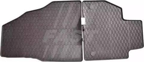 Fast FT96110 - Резиновый коврик с защитными бортами mavto.com.ua
