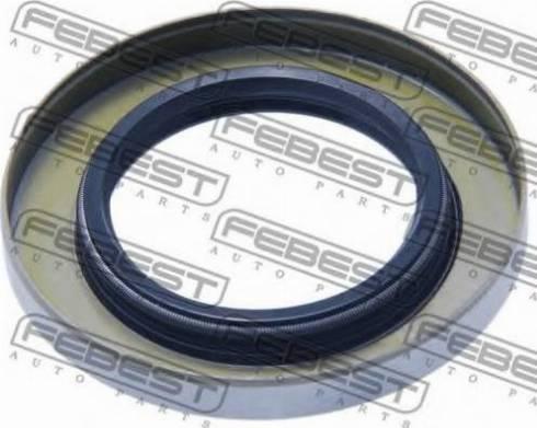 Febest 95GDY-38630808X - Уплотняющее кольцо, дифференциал mavto.com.ua