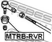 Febest MTRB-RVR - Ремкомплект, наконечник поперечной рулевой тяги mavto.com.ua