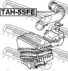 Febest TAH-5SFE - Трубопровод mavto.com.ua