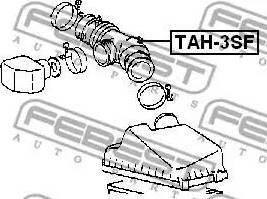 Febest TAH-3SF - Трубопровод mavto.com.ua
