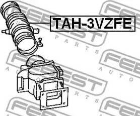 Febest TAH-3VZFE - Трубопровод mavto.com.ua