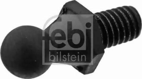 Febi Bilstein 40838 - Крепёжный элемент, кожух двигателя mavto.com.ua