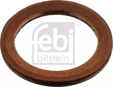 Febi Bilstein 04054 - Уплотнительное кольцо, резьбовая пробка маслосливного отверстия mavto.com.ua