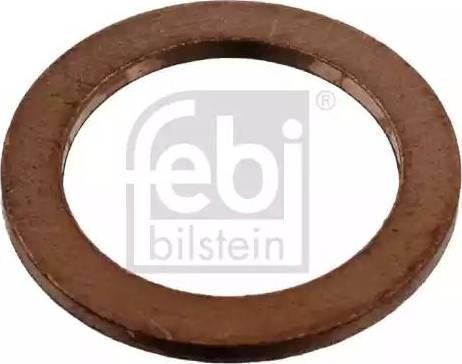Febi Bilstein 07215 - Уплотнительное кольцо, резьбовая пробка маслосливного отверстия mavto.com.ua