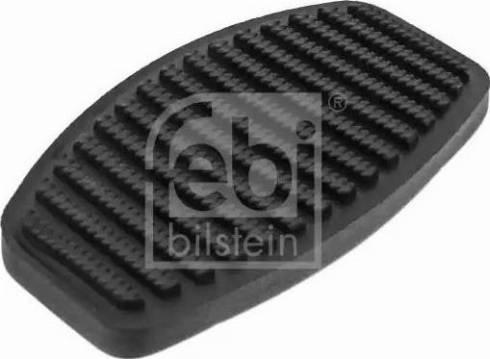 Febi Bilstein 12833 - Накладка на педаль, педаль сцепления mavto.com.ua