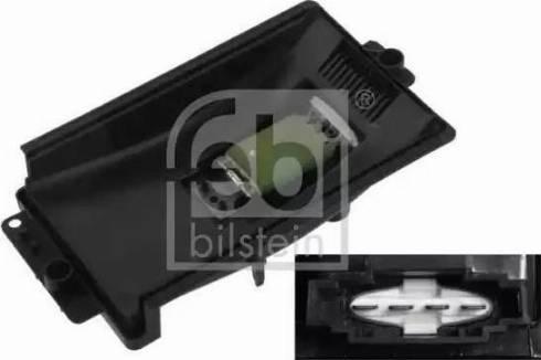 Febi Bilstein 33154 - Блок управления, отопление / вентиляция mavto.com.ua