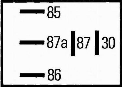 HELLA 4RD965453-041 - Реле, предварительный нагреватель топлива mavto.com.ua