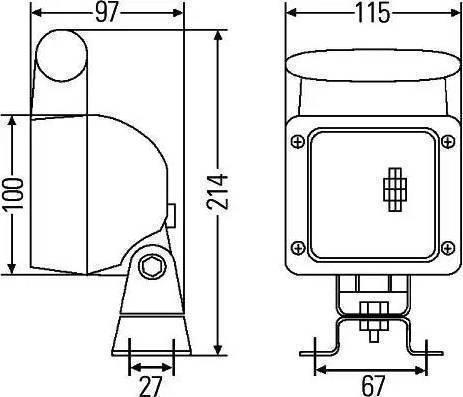 HELLA 8KA 340 846-001 - Комплект проводов, задний фонарь mavto.com.ua